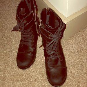 Dolce Vita moto boots